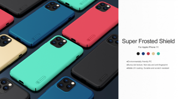 Ốp lưng iPhone 11 Pro - Nillkin sần (ốp cứng siêu bền)